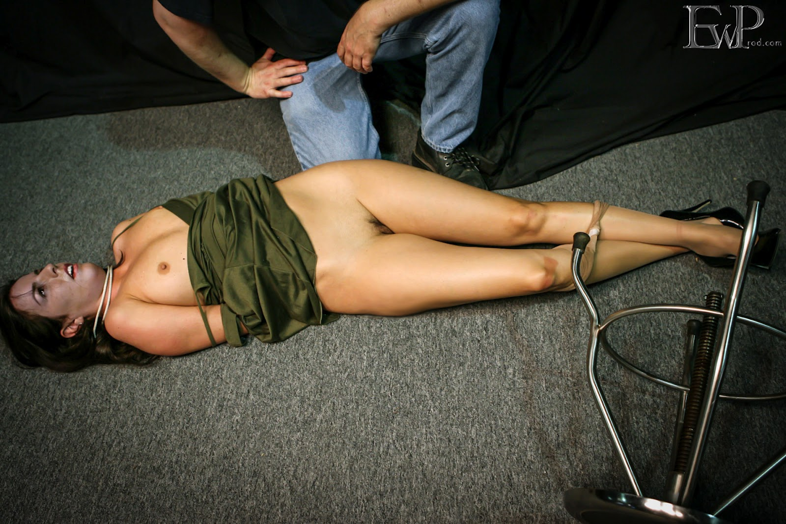 Snuff girl hanged that interrupt