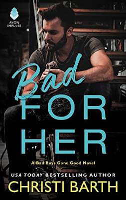 Bea's Book Nook, Review, Bad For Her, Christi Barth