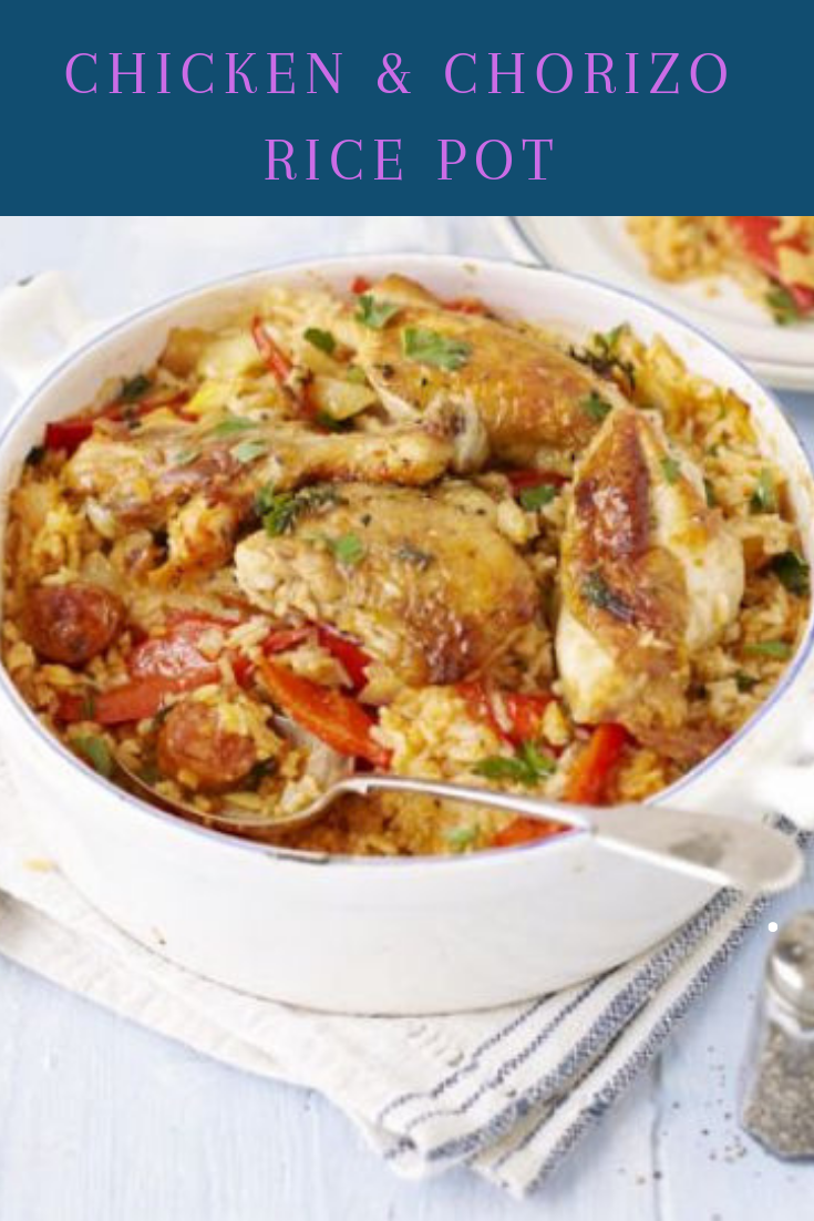 Chicken & Chorizo Rice Pot Recipe