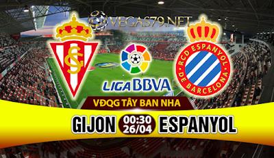 Nhận định, soi kèo nhà cái Sporting Gijon vs Espanyol