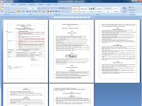 Download Contoh Format Peraturan Akademik