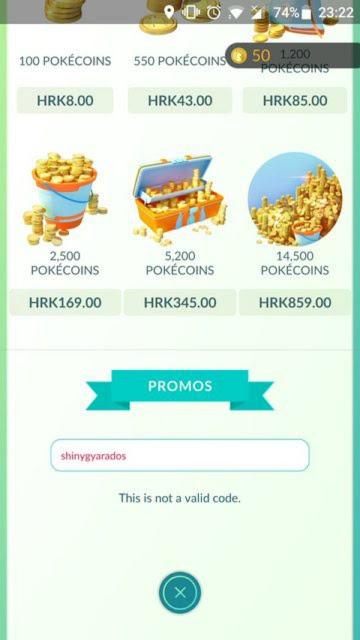 Pokémon GO: A Niantic habilita códigos promocionais para obter objetos grátis na loja.