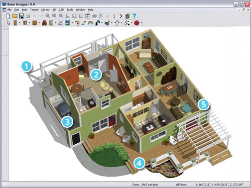 Best home design software architectural home designer - Free home remodeling software ...
