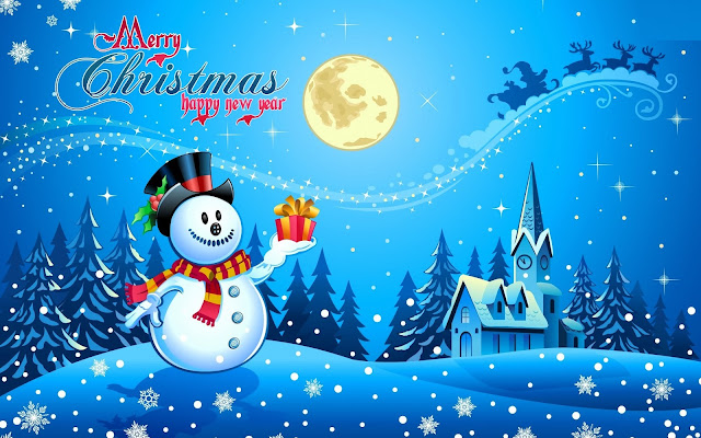 merry christmas new wallpaper download