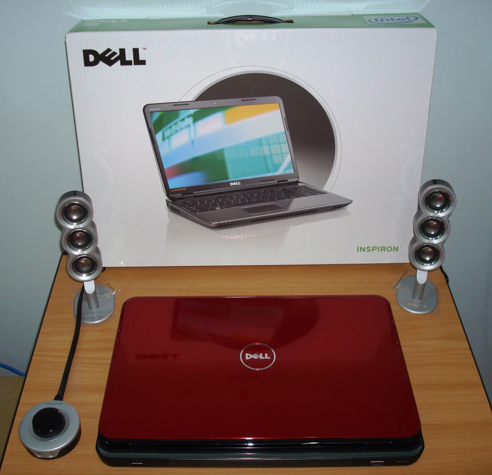Red Fox - Photographs, Diaries, and Thoughts: My New DELL Laptop