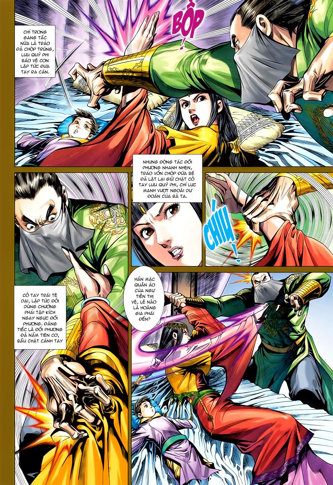 Anh Hùng Xạ Điêu anh hùng xạ đêu chap 78: sát anh trang 8