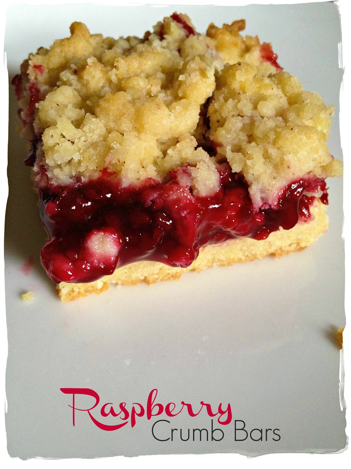 Life's Simple Measures: Secret Recipe Club: Raspberry Crumb Bars
