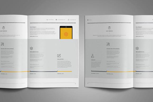 Web Design Proposal Free Download Freebies PSD - design proposal