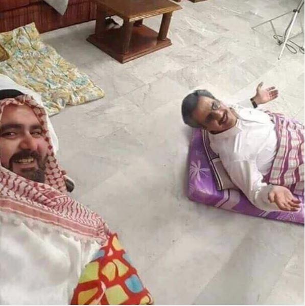 صور الوليد بن طلال في محبسه