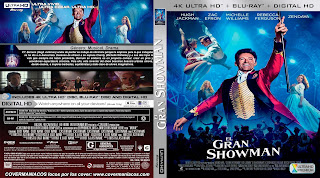 CARATULA EL GRAN SHOWMAN - THE GREATEST SHOWMAN - 2017