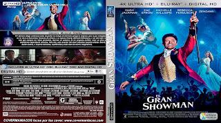 CARATULAEL GRAN SHOWMAN - THE GREATEST SHOWMAN - 2017