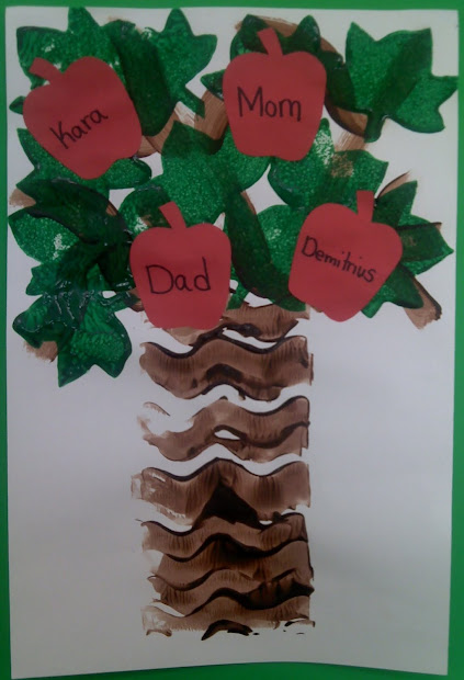 Family Tree Preschool Craft