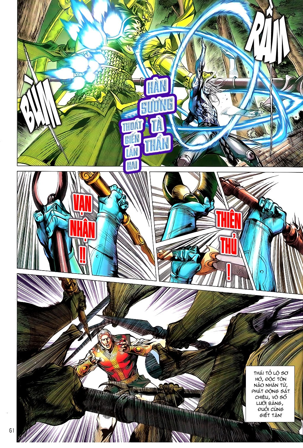 truyện tranh thiết tướng tung hoành Chapter 101/