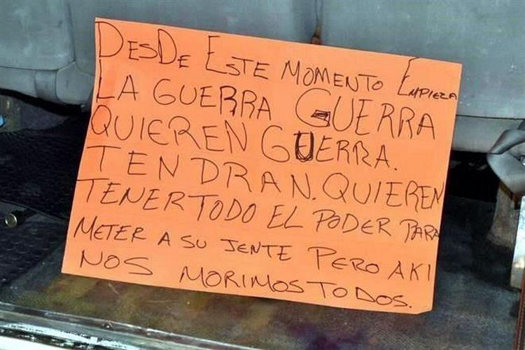 """!!! AKI NOS MORIMOS TODOS !!!,""""CJNG"""" EJECUTO a los 11 y de PASO """"AMENAZO al GOBIERNO"""" en VERACRUZ."""