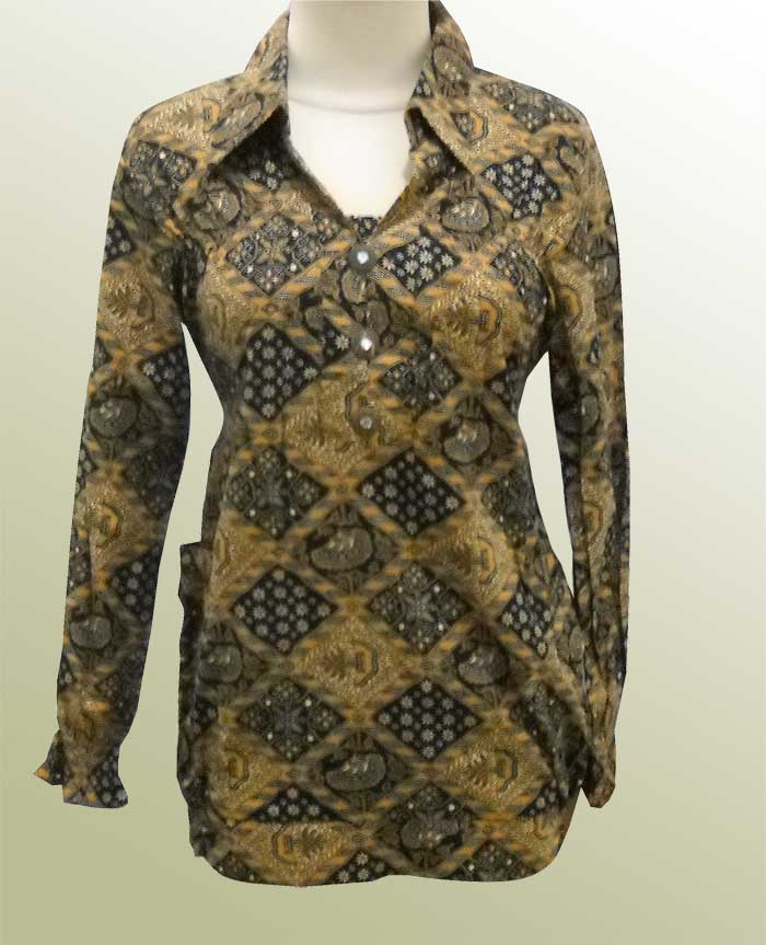 Model Baju Batik Kerja Muslimah Terbaru: Memilih Model Baju Batik Terbaru