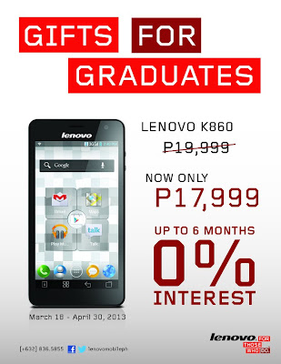 Lenovo K860 Price Drop