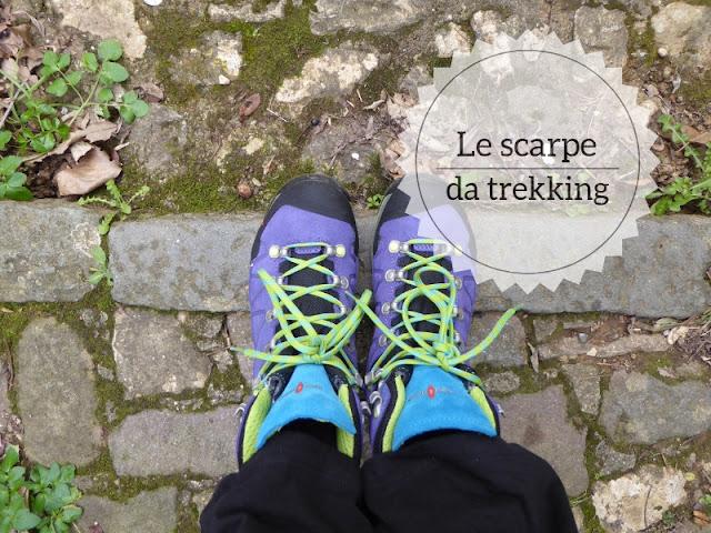 Attrezzatura da trekking: le scarpe da trekking Kayland