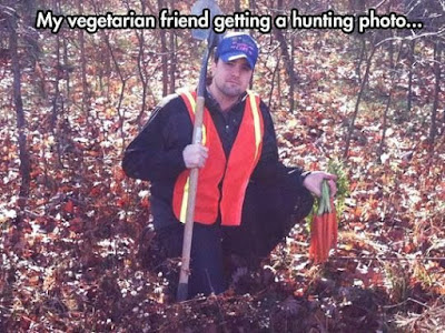 hunting picture for vegetarians
