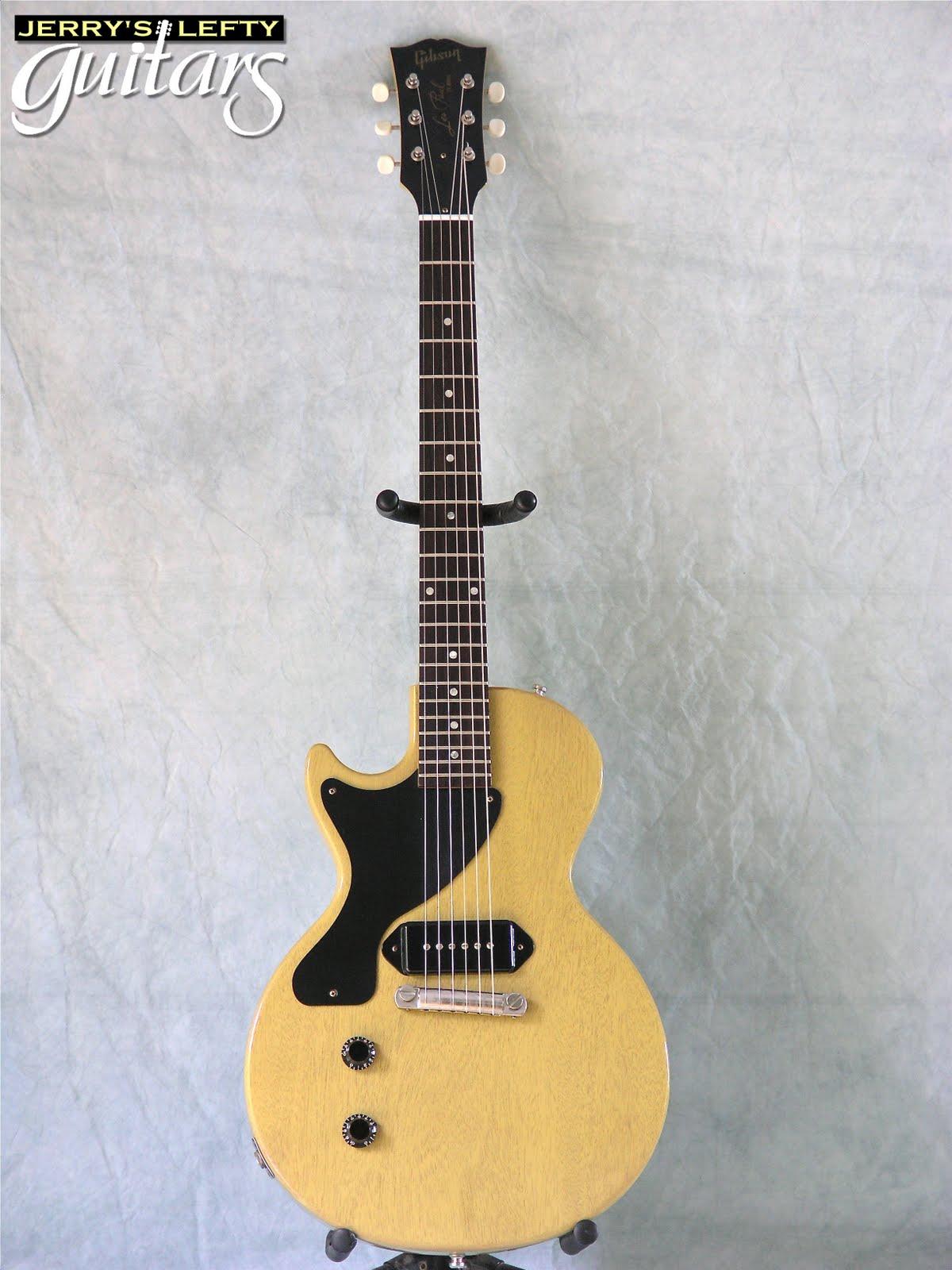 jerry 39 s lefty guitars newest guitar arrivals updated weekly gibson les paul jr custom shop. Black Bedroom Furniture Sets. Home Design Ideas