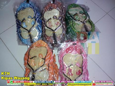 jual Kipas Wayang