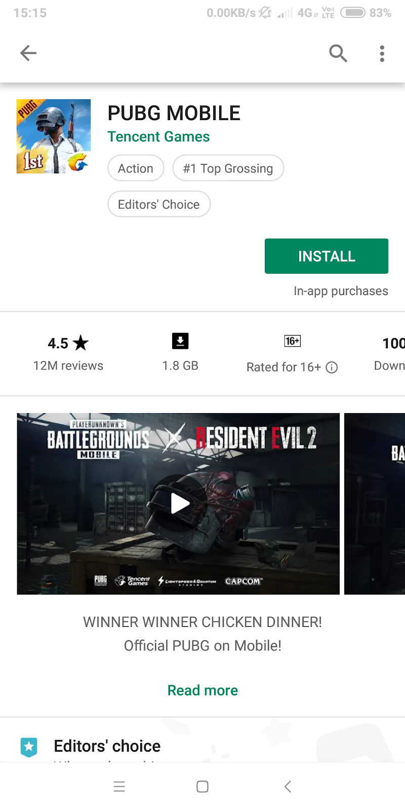 pubg mobile download google play store