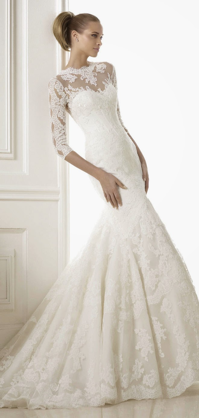 Pronovias 2015 Best Wedding Dresses