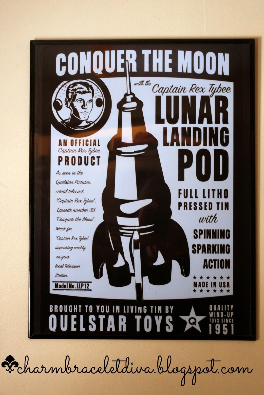 Captain Rex Tybee Lunar Landing Pod poster wall art