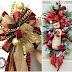 Aprende cómo decorar con moños navideños de listón