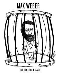 Weber y la Jaula de Hierro.