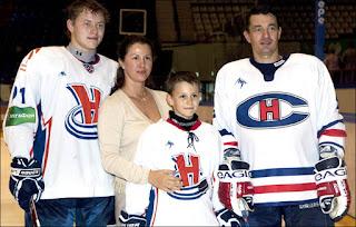 Vladimir Tarasenko With Family