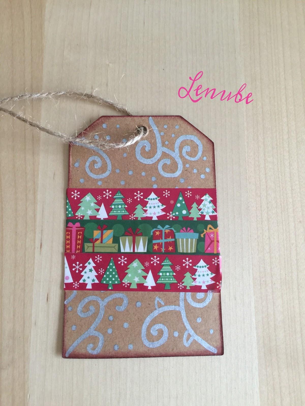 Ideas Etiquetas para regalos navideños