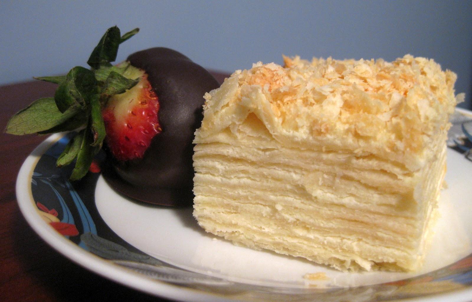 Traditional Russian Birthday Cake