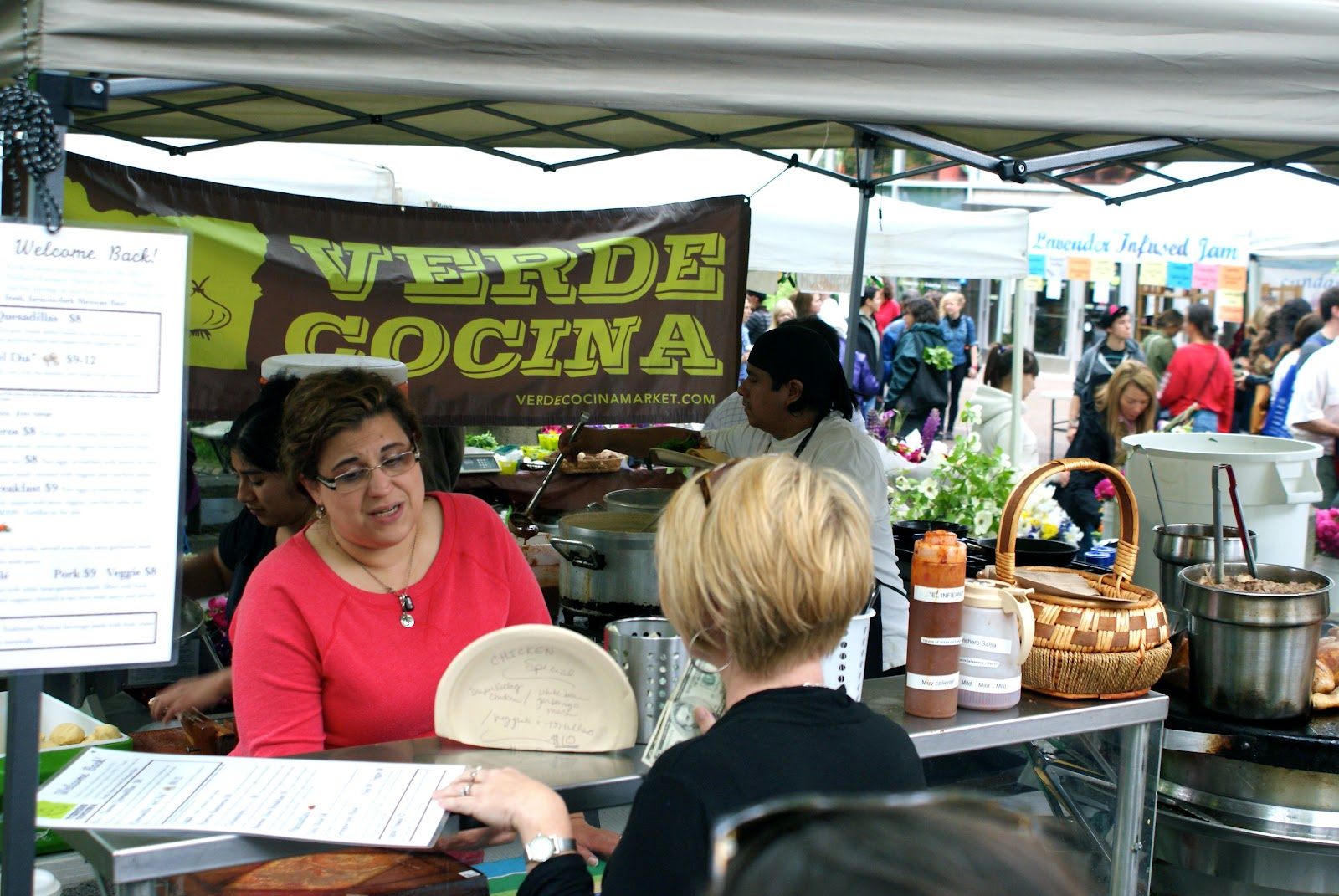 Verde Cocina Farmers Market Eating Friendly Eating Friendly At The Portland Farmer 39s