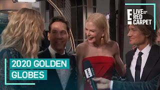 Entrevista de Laura Dern  no Globo de Ouro de 2020