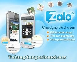 Zalo android, tải Zalo android, download Zalo android