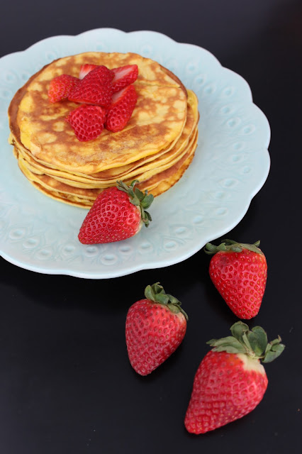 Keto Strawberry Cheesecake Pancake Recipes