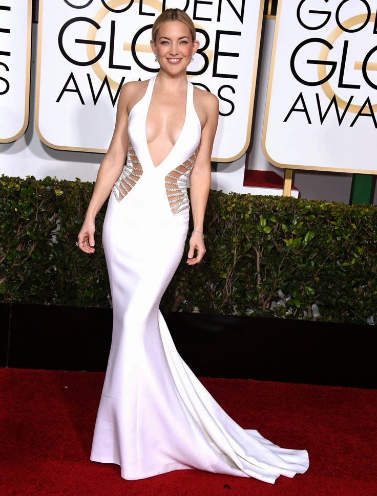 Kate Hudson best dressed at Golden Globe Awards 2015