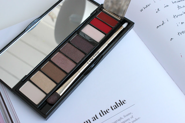 christmas 2015, eyeshadow palette, review, la palette 29, faubourg saint honore, lancome, eye lip palette