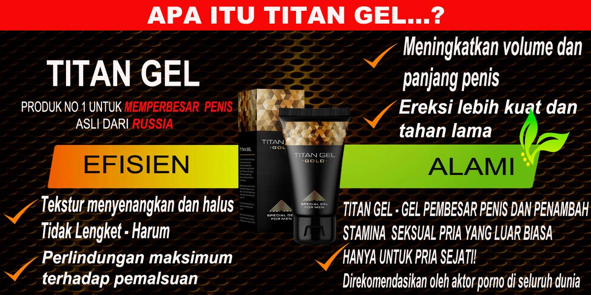 Titan Gel Gold | Info Efek Samping, Testimoni, Dan Harga Titan Gel Asli