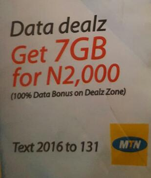 MTN Deal Zone Get 14GB + 4000 Airtime Valid For 2Months