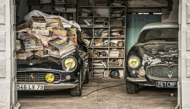discovery of ' Junk ' Cars Worth $24 Million in Garage