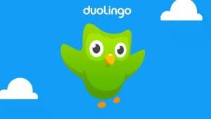 Aplikasi terbaik android Duolingo
