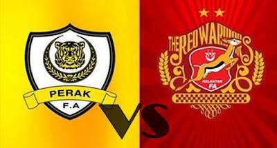 Live Streaming Kelantan vs Perak Liga Super 15 Julai 2017