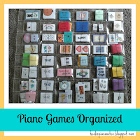 Piano Games Organized by Concepts (Rhythm, Note Reading, Ear Training, Chords, etc.) and Level