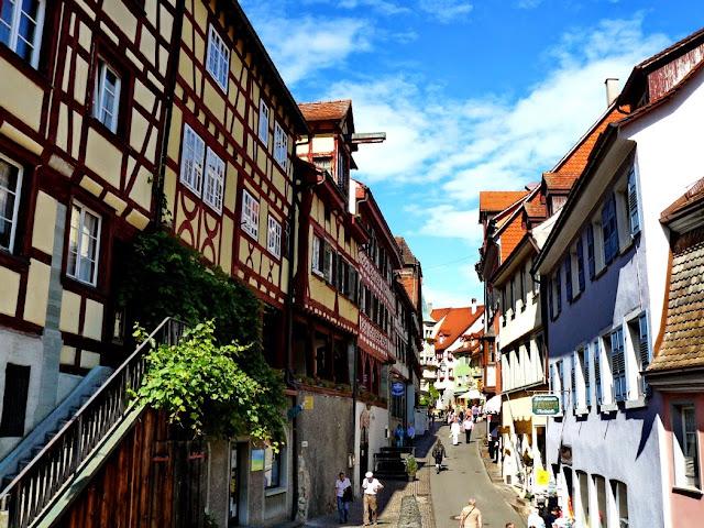 Calle principal de Meersburg