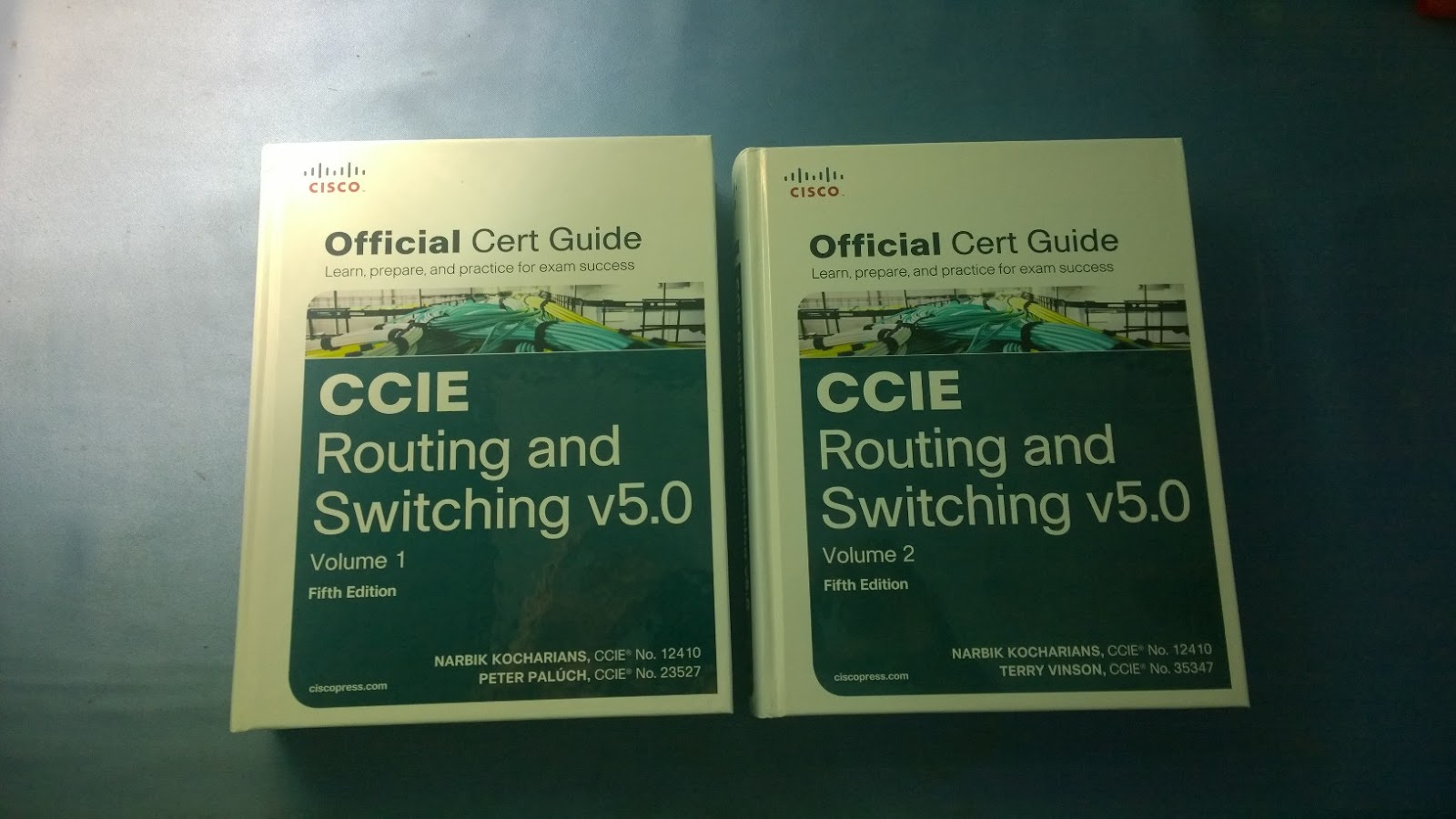 CCIE Routing & Switching v5.0 Official Cert Guide Library.