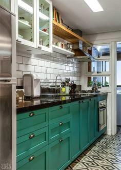 cozinha retrô ou vintage