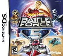 โหลดเกม ROM Hot Wheels Battle Force 5 .nds