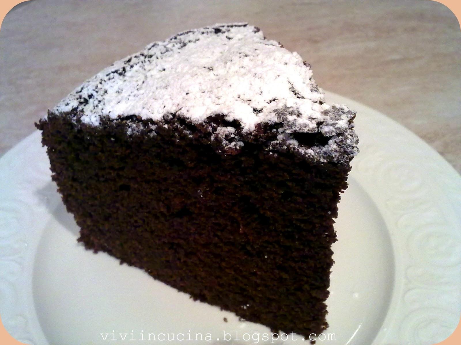 Vivi In Cucina Torta Al Cacao Soffice Soffice Bimby