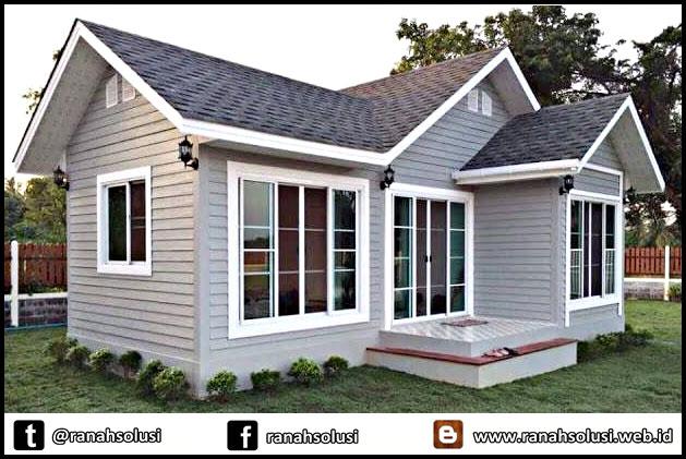 Gambar Model Rumah Minimalis Sederhana di Desa